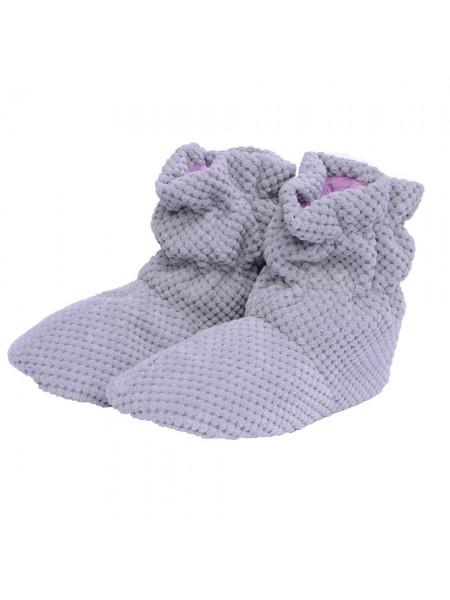 Чобітки домашні  FX Shoes (св сірий) DW-090