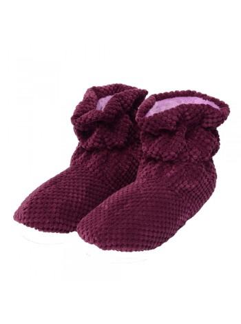 Чобітки домашні  FX Shoes (бордо) DW-070