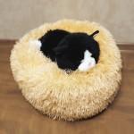 Лежанка для котов/собак 40 см (Персик)