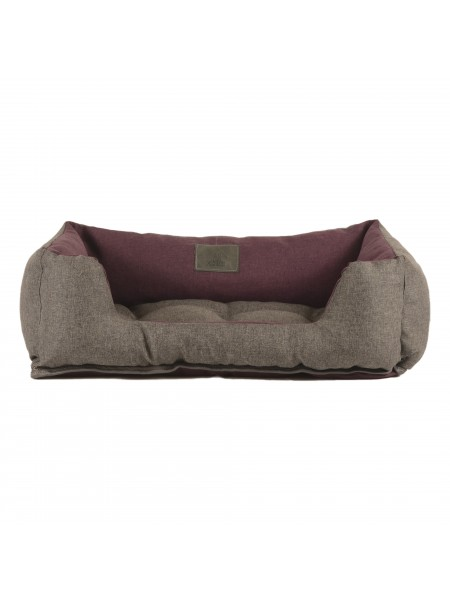 Лежак для домашніх тварин 2в1 Дипломат 60х40 сір-борд
