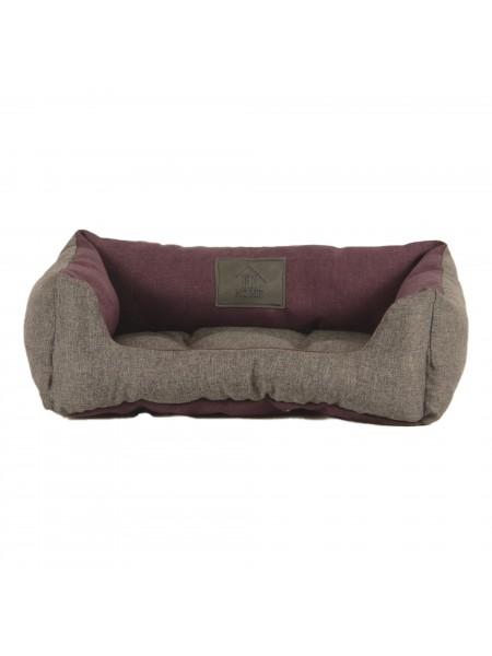 Лежак для домашніх тварин 2в1 Дипломат 40х30 сір-борд