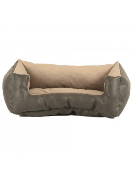 Лежак для домашніх тварин Royal  40х30 сірий