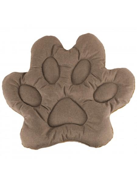 Подушка для домашніх тварин у формі лапи