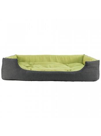 Лежак для домашніх тварин прямокутний 63х46 см зелен