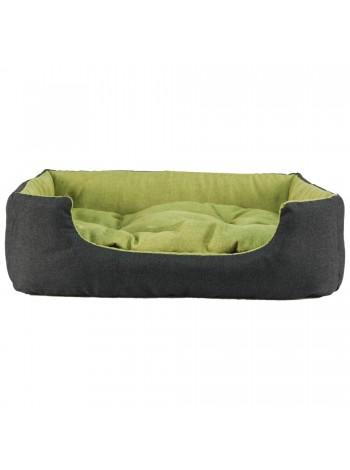 Лежак для домашніх тварин прямокутний 42х34 см зелен