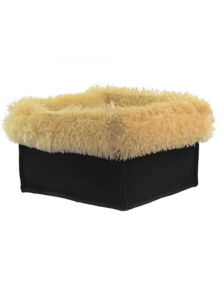 Лежанки для котов и собак 2 в 1  40х40х25 см со съемным чехлом Fx Home персик