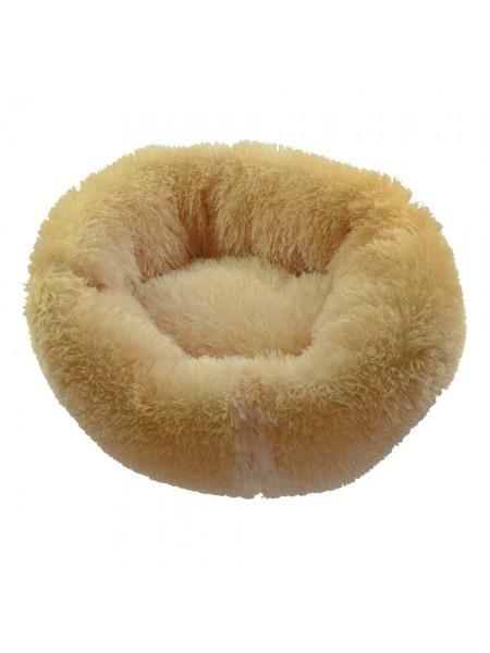 Лежанка для котов/собак 65 см (Персик) Fx Home