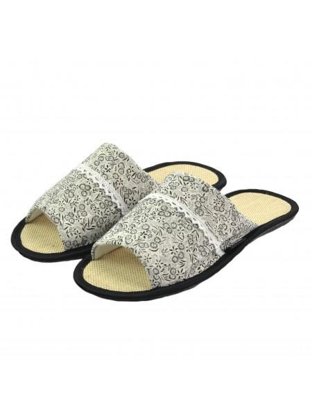 Тапочки FX shoes 11033 black