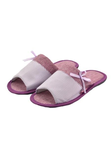Тапочки FX shoes 11043 violet