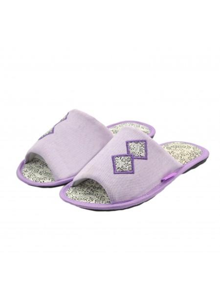 Тапочки FX shoes 11044 violet