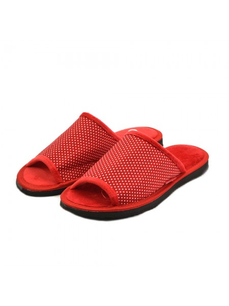 Тапочки FX shoes 11046 red