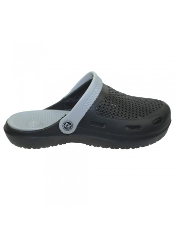 Сабо FX shoes Черно-серые