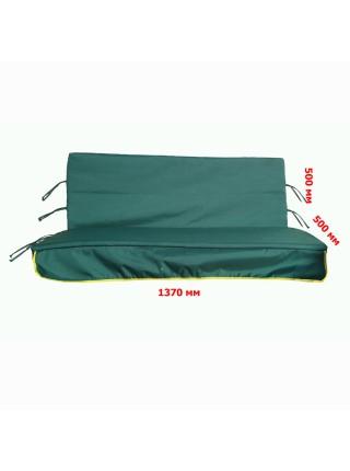 Матрас для садової гойдалки 1370 мм х 500 мм + 500 мм.