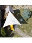 Тент захистний від сонця Парус 3,35х3,35х3,2 м